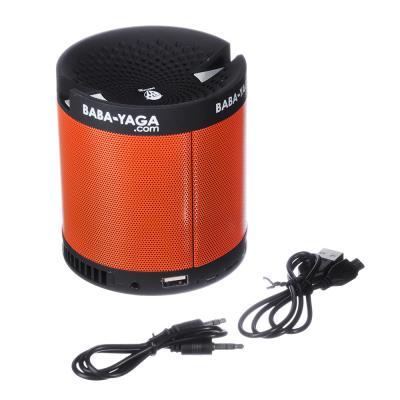 443-004 BY Аудио-колонка беспроводная с подставкой под телефон, 800 мач, USB, AUX, MicroSD, пластик