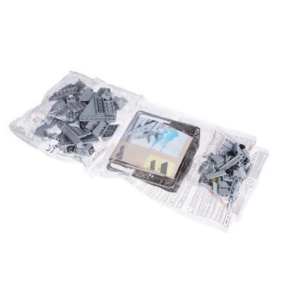 858-029 ИГРОЛЕНД Армия Конструктор Истребитель, 126дет., пластик, 30х20х5см