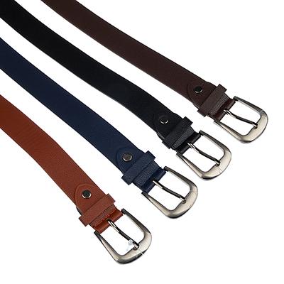 311-348 Ремень для мальчиков, ПУ, длина 95  см, ширина 2,8 см, 4 цвета, PAVO