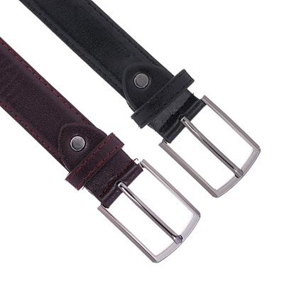 311-350 Ремень для мальчиков, ПУ, длина 95  см, ширина 2,8 см, 2 цвета, PAVO
