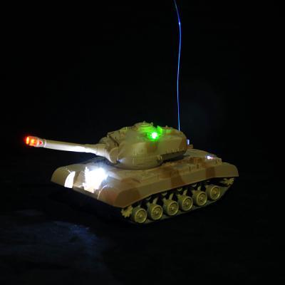 293-024 ИГРОЛЕНД Танк на радиоуправлении, движение, свет, звук, PP, 4+2 АА,24,5х12,5х14 см