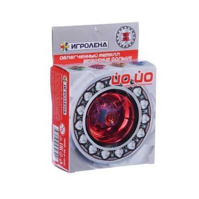 214-010 ИГРОЛЕНД Игрушка супер йо-йо, пластик, металл, 5,5х5,5х3,4см