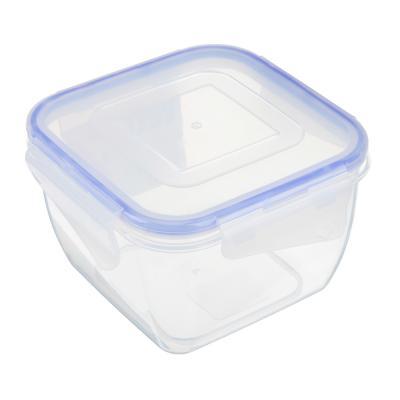 861-238 VETTA Контейнер для СВЧ пластик, квадратный с защелками, 0,9л, V167052