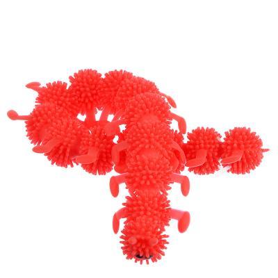 297-051 LASTIKS Гусеница резиновая 24см, TPR, 2х24х3,5см, 3-6 цветов