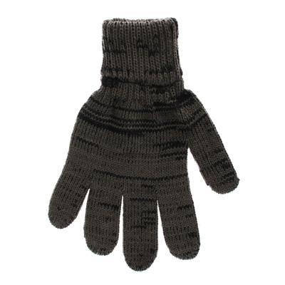 Перчатки вязаные теплые полушерстяные 30% шерсть мериноса и 70% акрил