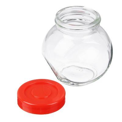 828-206 Набор банок для сыпучих продуктов 4шт, 150 мл, стекло