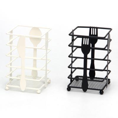 844-091 Подставка под столовые приборы, металл, 2 дизайна
