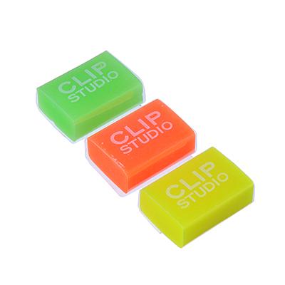 607-008 Ластик CLIP STUDIO улучшенное стирание, 4 цвета