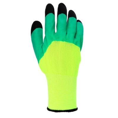 188-071 INBLOOM Садовые перчатки, 9 размер, нейлон с пенополиуретановым обливом, 50 гр