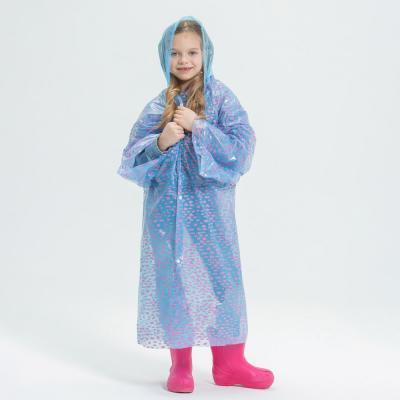 188-073 Детский дождевик, ПЭ, 20 мкм, 50х90 см, INBLOOM