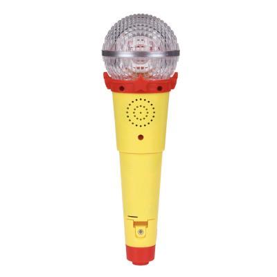 272-634 ИГРОЛЕНД Микрофон-караоке с подсветкой, звук, полимер, пит.3ААА, 21х6,5х6,5см
