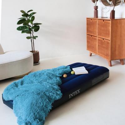 """108-041 Кровать надувная, FIBER-TECH, 76х191х25 см, INTEX """"Classic downy Cот"""", 64756"""
