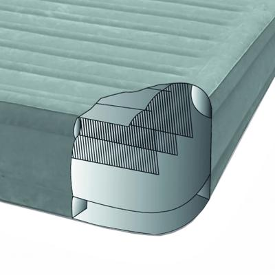 """108-050 Кровать надувная высокая со встроенным насосом, 220 В, 99х191х46 см, INTEX """"Комфорт твин"""", 64412"""