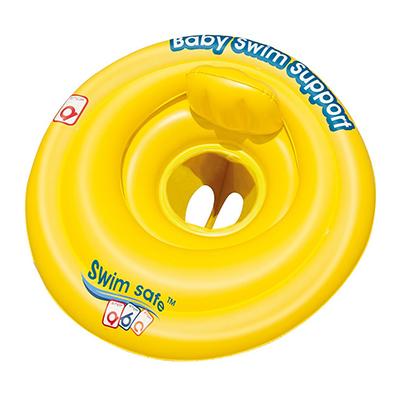 091-101 BESTWAY Круг для плавания со спинкой, Swiм Safe,69 см, 32096