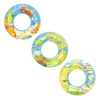 091-104 BESTWAY Круг для плавания дизайнерский, 56 см, 36013