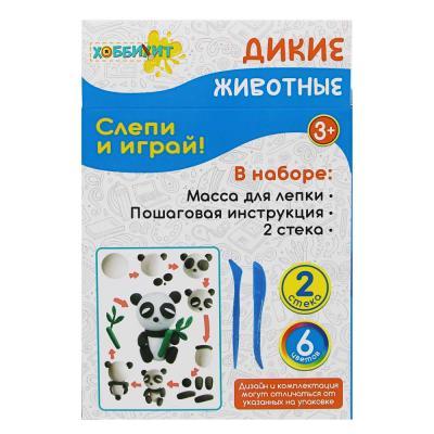 289-142 ХОББИХИТ Поделка из легкого пластилина, 35-40гр, полимер, 11х18,7х5см, 5 дизайнов