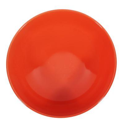 824-016 Глянец Салатник, 17,5см, 700мл, керамика, оранжевый