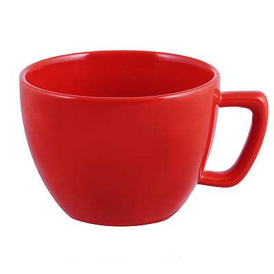 824-018 Глянец Бульонница, 500мл, керамика, красный