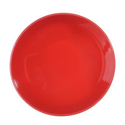 """824-020 Салатник d.17,5 см, керамика, красный, """"Глянец"""""""