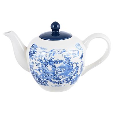 824-038 MILLIMI Гравюра Чайник заварочный, 1200мл, керамика