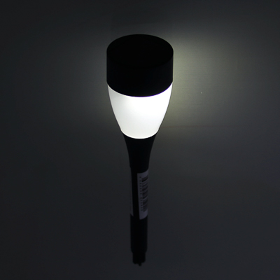 185-033 INBLOOM Фонарь садовый на солн. батарее 1х1 1.2V 2/3ААА 100MAH, пластик, 4,5x25,5см