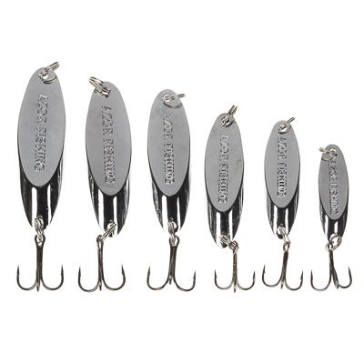 145-161 AZOR FISHING Блесна, колеблющаяся, тип Кастмастер, цвет серебро, микс 7, 10, 14, 18, 21, 25гр