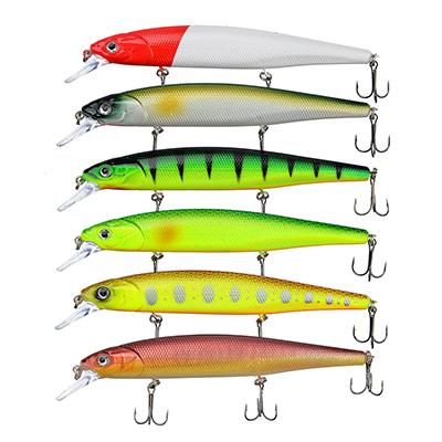 145-166 AZOR FISHING Воблер Классик Минноу XL, 20, 6гр., 14, 5 см, 0-1, 8 м, 6 цветов
