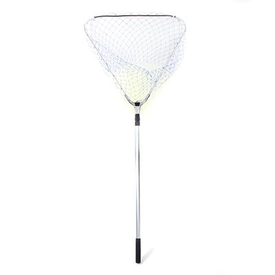 146-018 AZOR FISHING Сачок большой складной, треугольный, 70 см , длина 1,5 м