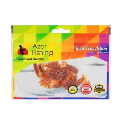 145-169 AZOR FISHING Приманка мягкая K.Good , силикон, 4см, 12шт. в уп, 3 цвета