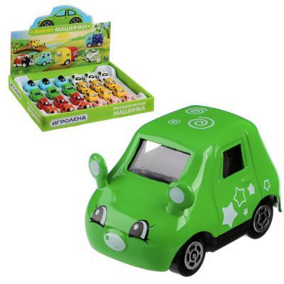 292-143 ИГРОЛЕНД Машинка, металл, 8 дизайнов, 5x3x3см