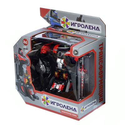 296-046 ИГРОЛЕНД Робот-машина, металл, пластик, 12,5х6х3,5см, 2 дизайна
