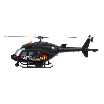 292-147 ИГРОЛЕНД Вертолет со световыми и звуковыми эффектами, пластик,26х9,5х6,5 см ,H161A