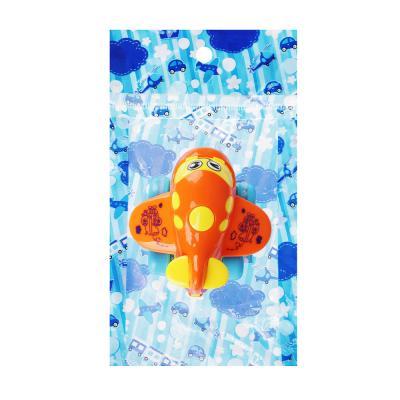 """292-151 МЕШОК ПОДАРКОВ Машинка инерционная """"Самолет"""", пластик, 12,5х19,5х6см, 4 дизайна, 100794564"""