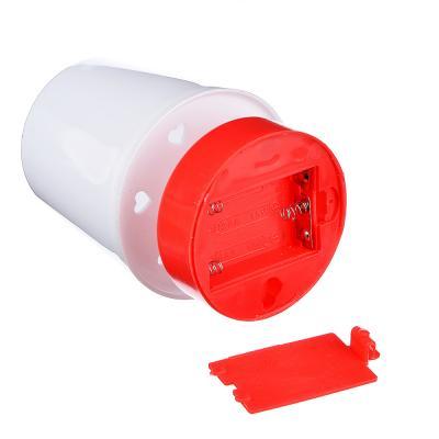 417-130 Светильник пуш, 1Вт Led, 11x7,5см, 3xAAA, пластик