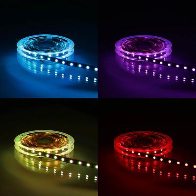 932-011 Подсветка рабочей зоны двойная, SMD 5050, RGB цветной, 5м, IP20, с резистором