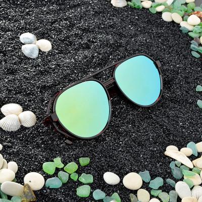 304-341 Очки солнцезащитные молодежные, пластик, 14,5х5,2см, 3 цвета,ОС19-5