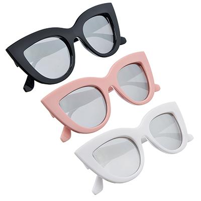 304-345 Очки солнцезащитные молодежные, пластик, 15х5,2см, 3 цвета, ОС19-9