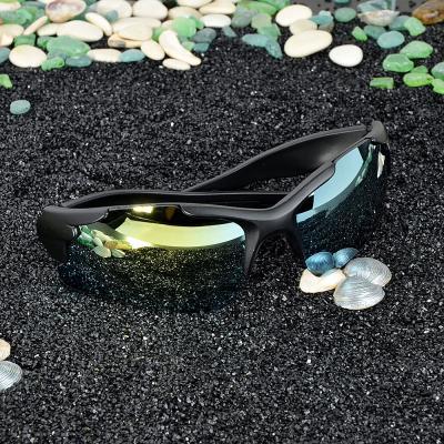 304-363 Очки солнцезащитные мужские, пластик, 19х4,3см, 3 цвета, ОС19-27