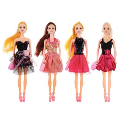 267-782 ИГРОЛЕНД Кукла модельная с аксессуарами, пластик, коробка 32,5х12,8х5см, 3 дизайна