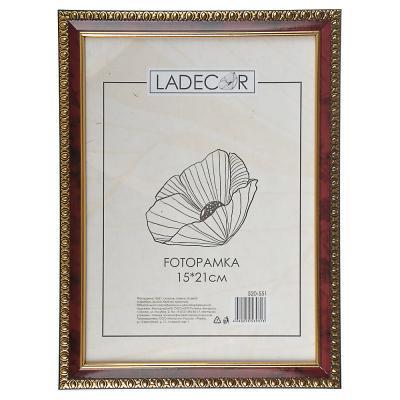 520-551 LADECOR Фоторамка 15х21см, пластик, стекло, 5 цветов