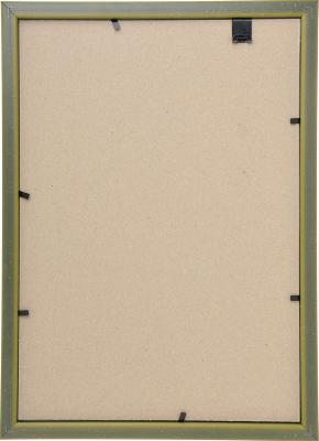520-555 Фоторамка 21х30, пластик, стекло, 5 цветов (бронза, орех, бук, серебро, золото)