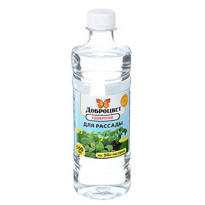 189-012 Удобрение для рассады 0,5 л Доброцвет, биогумус