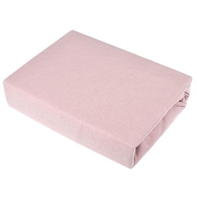 432-011 Простыня трикотажная на резинке PROVANCE160х200х20 см, 4 цвета