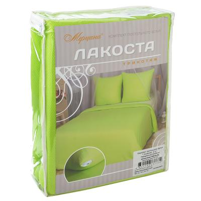 """421-223 Комплект постельного белья 1,5 (4 пр), """"Лакоста"""", хлопок 95%, ПЭ 5%"""