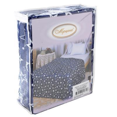 """421-228 Комплект постельного белья евро (4 пр), """"Джерси"""", трикотаж, хлопок 100%"""