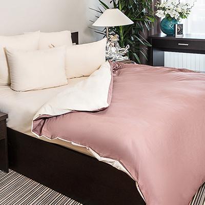 421-234 Комплект постельного белья евро PROVANCE поплин гладкокрашеный 110гр/м, 100% хлопок