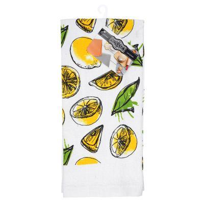 434-053 PROVANCE Лимоны Полотенце кухонное, 80% хлопок 20% полиэстер, 38х63см, GC