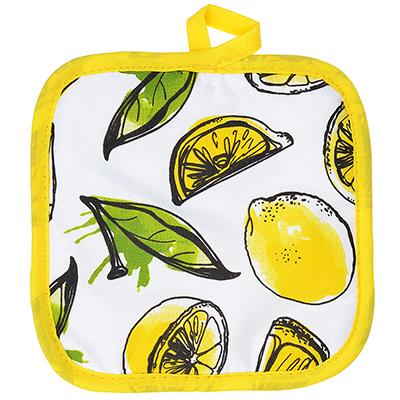 493-078 Лимоны Прихватка, полиэстер, 17х17см, GC