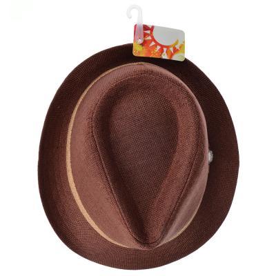 314-470 Шляпа молодежная, 35% хлопок, 65% полиэстер, р-р 56-58, 4 цвета, ШЛ19-23