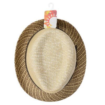 314-471 Шляпа молодежная, 35% хлопок, 65% полиэстер, р-р 56-58, 2 дизайна, 4 цвета, ШЛ19-24